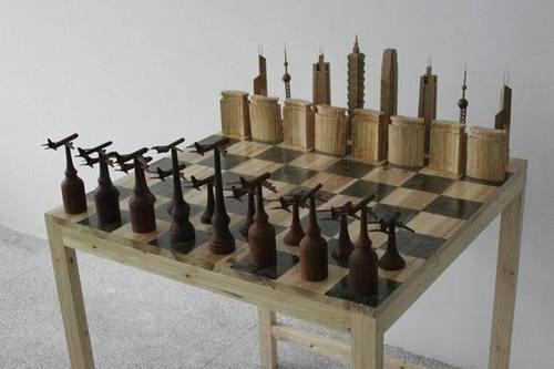 La guerra en ajedrez