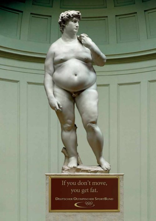 El gordo David