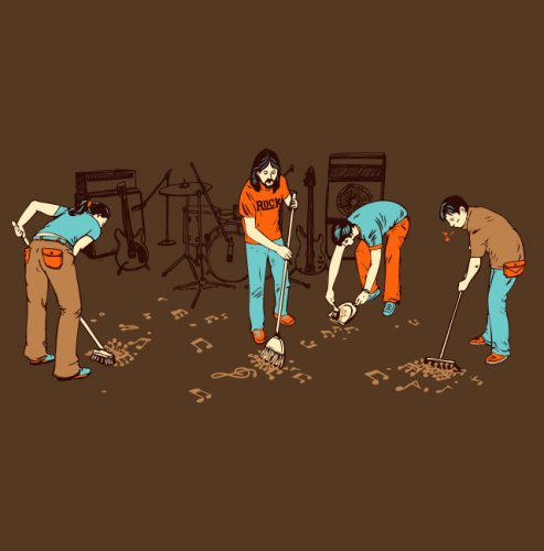 los musicos