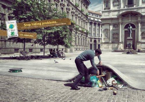 Debemos reciclar en las calles.