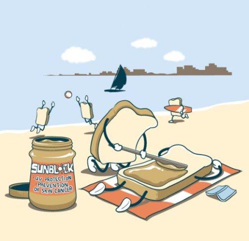Tostadas en verano