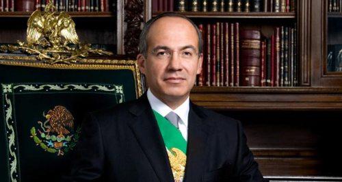 Felipe Calderón, presidente de México