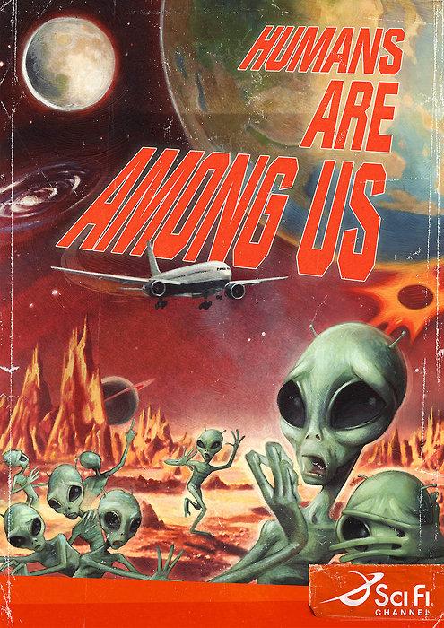 Y los humanos invadieron a los marcianos...